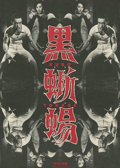 黑蜥蜴海报