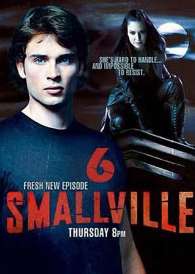 超人前传 第六季海报
