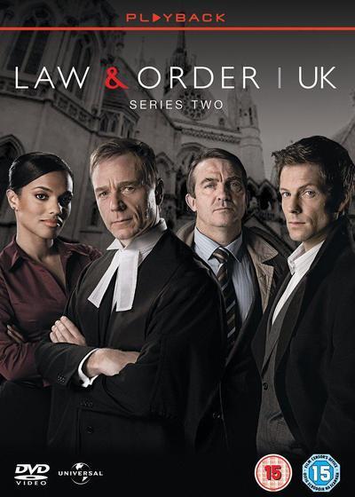 法律与秩序(英版) 第二季海报