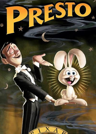 魔术师和兔子海报