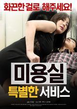 美容室:特殊服务海报