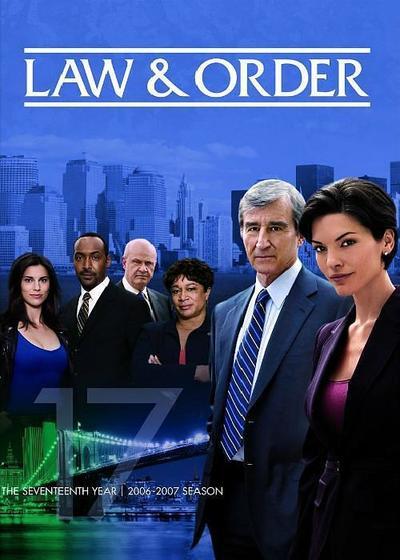 法律与秩序 第十七季海报