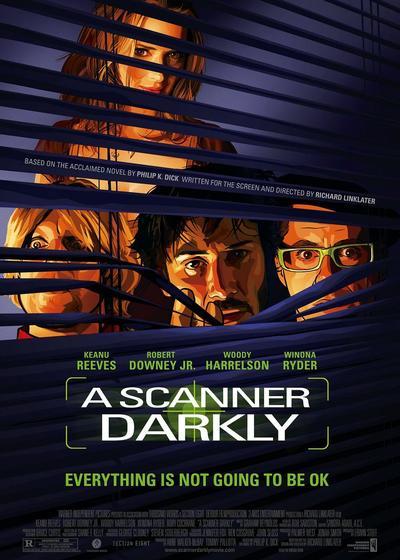 黑暗扫描仪海报