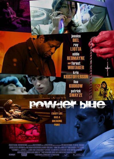 蓝色粉末海报