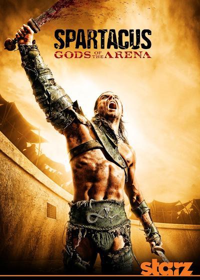 斯巴达克斯:竞技场之神海报