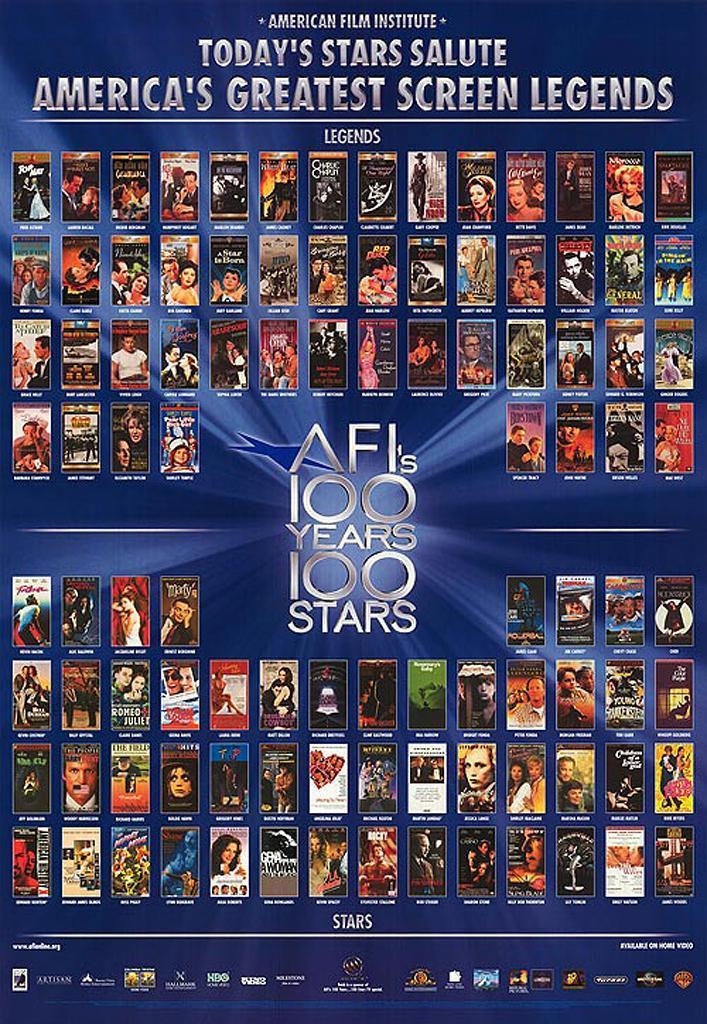 好莱坞百年百个明星