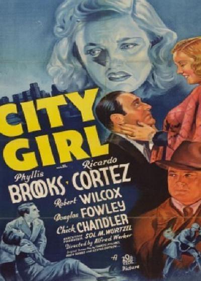 都市女郎海报