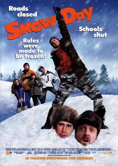 下雪的日子海报