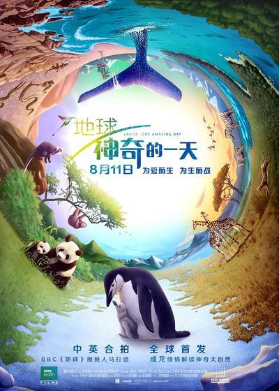 地球:神奇的一天海报