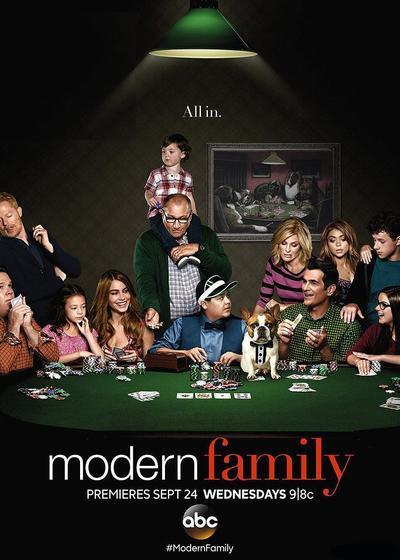 摩登家庭 第六季海报