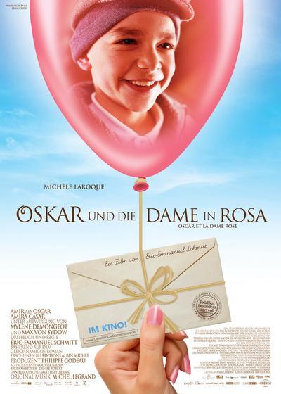 奥斯卡与玫瑰夫人海报