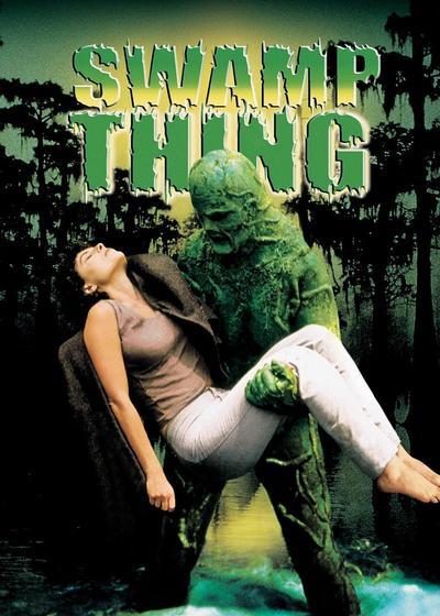 沼泽怪物海报