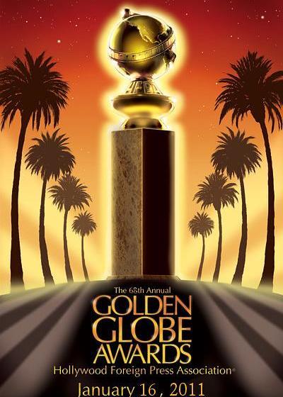 2011第68届金球奖颁奖典礼海报