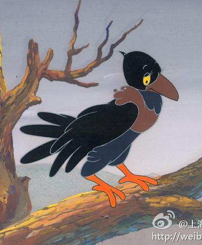 乌鸦为什么是黑的海报