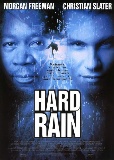 大雨成灾海报