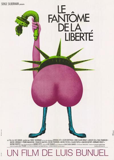 自由的幻影海报