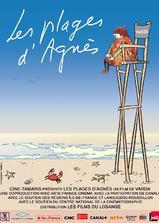 阿涅斯的海滩海报